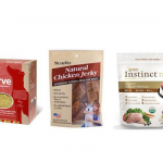 "Recalls: The Honest Kitchen ""Verve"", Nutri-Vet and NutriPet Chicken Jerky treats, Instinct Raw Organic Chicken Formula"