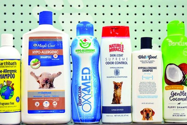 What is hypoallergenic dog shampoo?